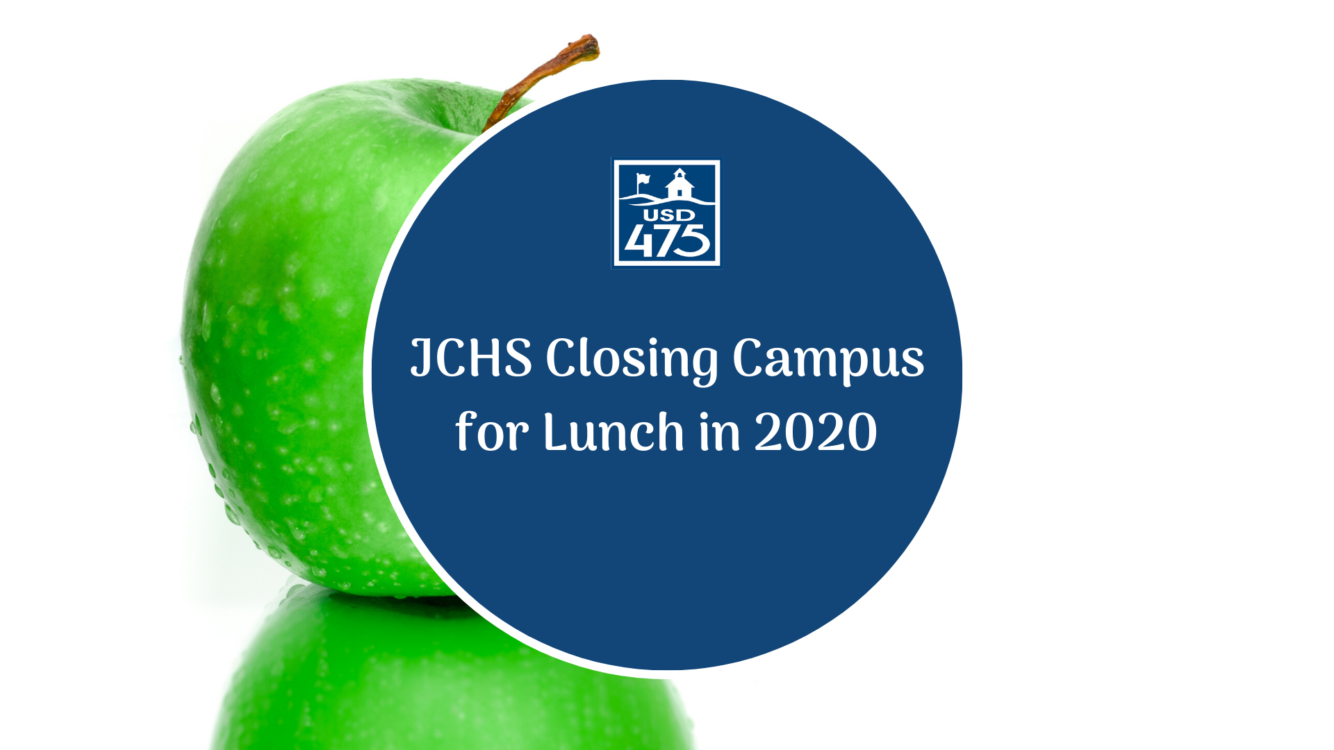 JCHS Closed Lunch
